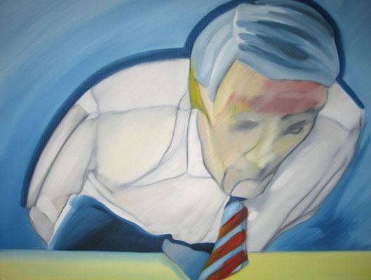 Menschenbilder, Öl auf Leinwand, 60 x 80 cm