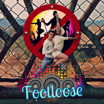 Footloose movie fan art poster.