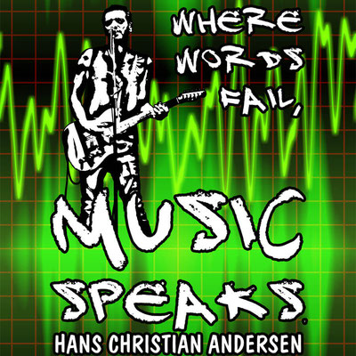Music Speaks Poster by Teresa Cowley