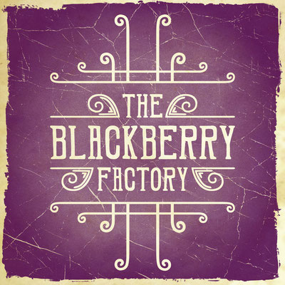 The Blackberry Factory Wall Art Series - Typographic Poster by Teresa Cowley