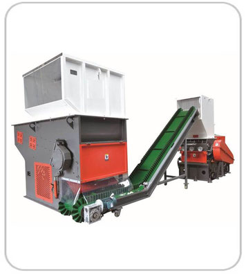 Shredder & Granulator Machine
