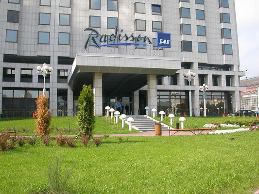 Moskau, Hotel Radisson