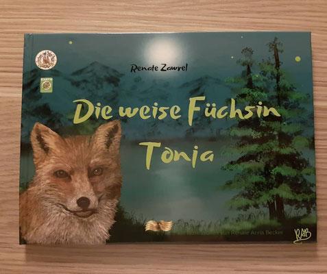 """""""Die weise Füchsin Tonja"""" (""""Мудрая лисица Тоня""""), Wendebuch deutsch-russisch"""
