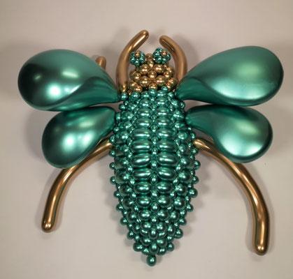 Broche Scarabé Bijou sculpture ballon
