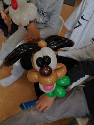 Chien sculpture ballon