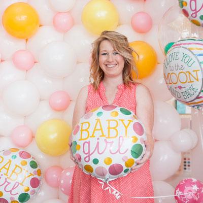 Baby-Shower en ballon