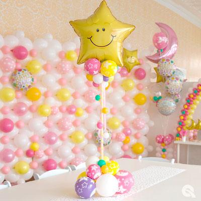 Baby-Shower Centre de table