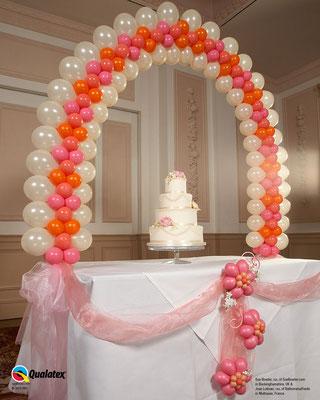 Arche de table mariage