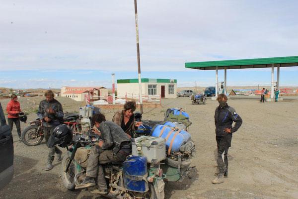 Treffen in der Mongolei