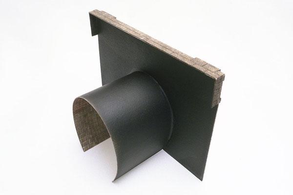 天板と側壁の一部もセット、レイアウトの壁とスムーズに繋げられます。