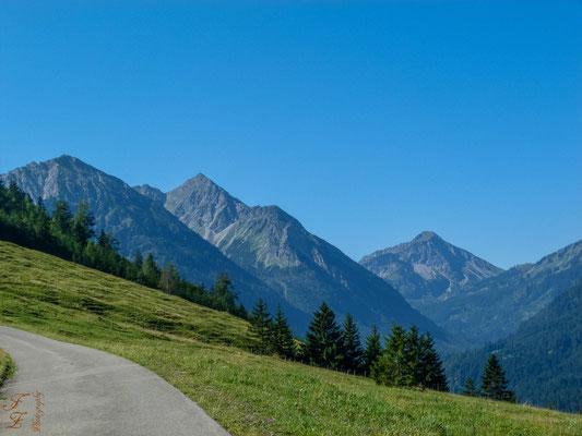 Breitenberg, Rotspitze und Entschenkopf