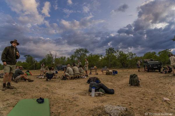 Campieren im Reservat