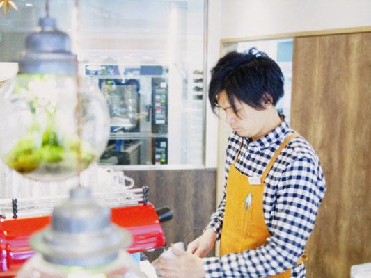 latte art 松原一憲