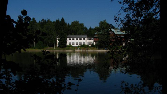 Das ehemalige Hotel in Maxdorf