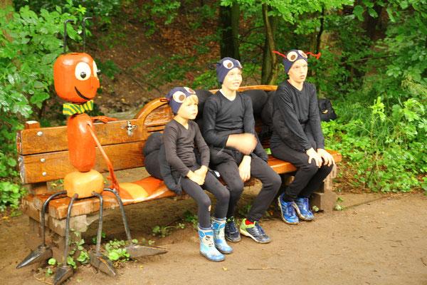 3 Ameisendarsteller