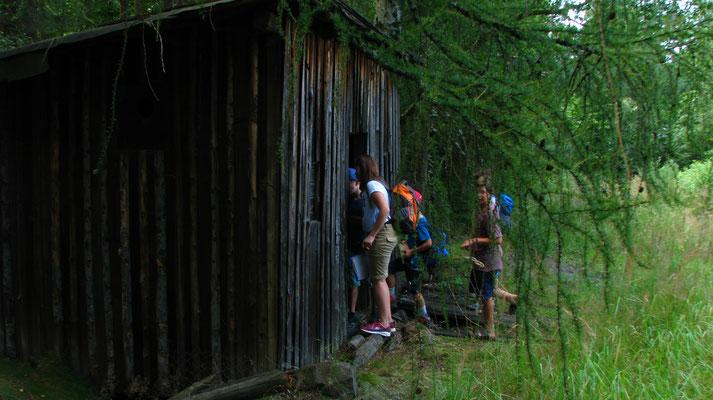 Die geheimnissvolle Hütte