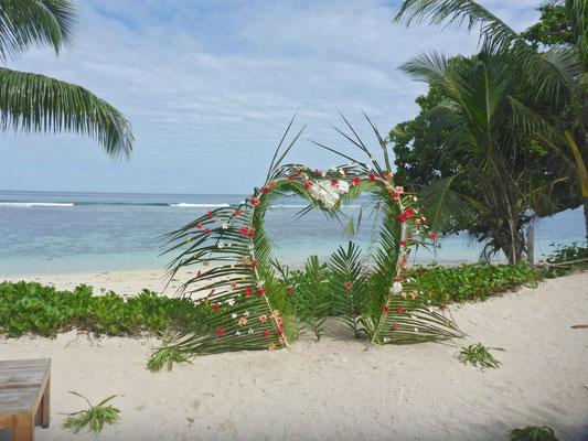 heiraten am Strand von Mahe