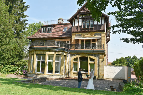 Heiraten in der Weber Villa Oerlinghausen