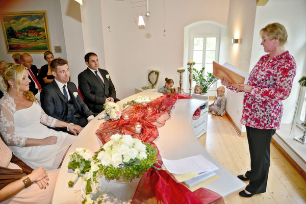 heiraten in der Werburg Spenge