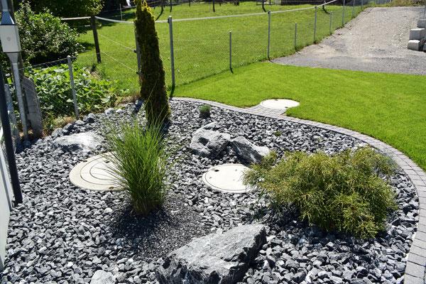 Steingarten Muff Gartenbaus Webseite