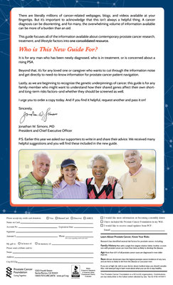 Direct Mail for Prostate Cancer Foundation