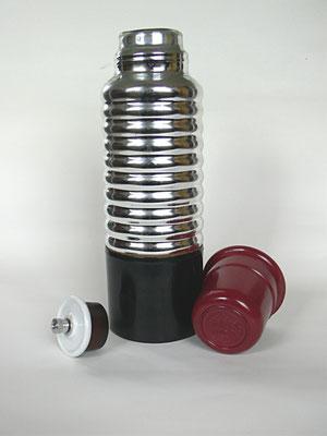 Bild: Original Thermos der Thermos AG  Langewiesen, sehr stabile, bruchsichere Flasche  (Panzerglas) ist ohne extra Umhüllung