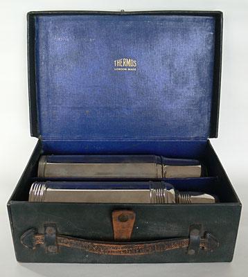 Bild: Originalcampingkoffer für Thermosflaschen, Thermos London Made