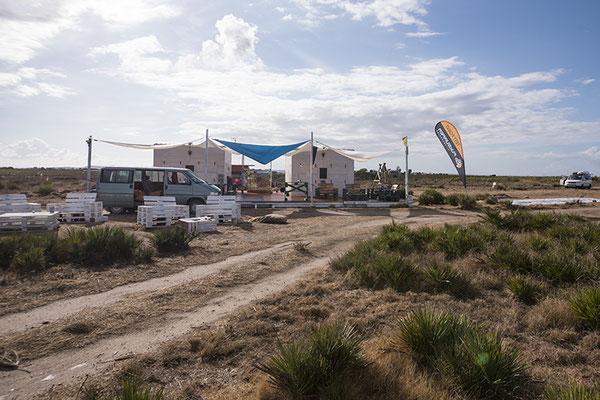 KIWIS Club am Ende der Lagune