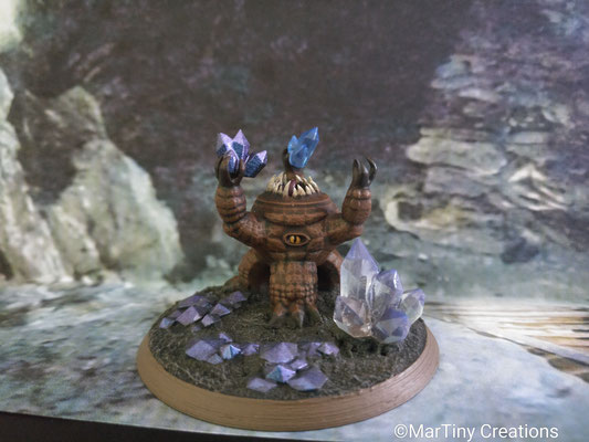 MarTiny Creations - Xorn with Crystals