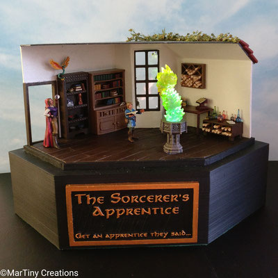 MarTiny Creations - Diorama The Sorcerer's Apprentice