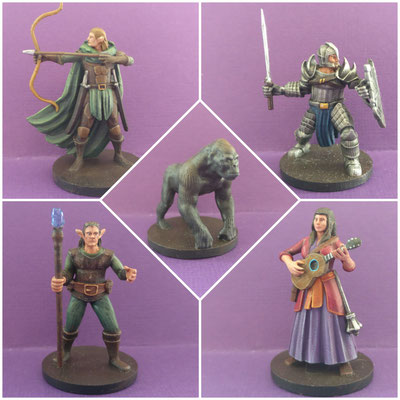 MarTiny Creations - Tabletop RPG party schilderwerk