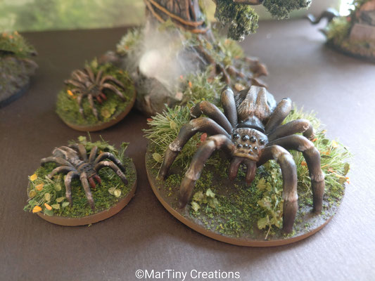 MarTiny Creations - Giant Spider Scenario