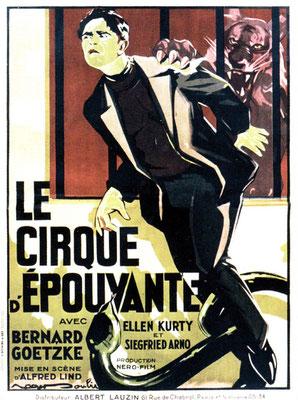 Le Cirque d'Épouvante (1928/de Alfred Lind)