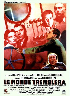 Le Monde Tremblera (1939/de Richard Pottier)