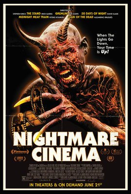 Nightmare Cinema (2018/de Alejandro Brugués, Joe Dante, Mick Garris, Ryûhei Kitamura & David Slade)