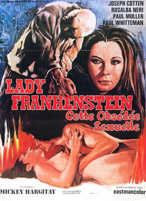 Lady Frankenstein - Cette Obsédée Sexuelle (1971/de Mel Welles & Aureliano Luppi)