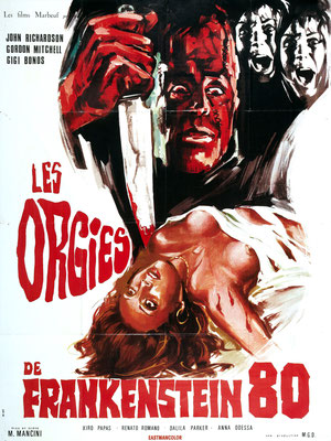 Les Orgies de Frankenstein 80 (1972/de Mario Mancini)