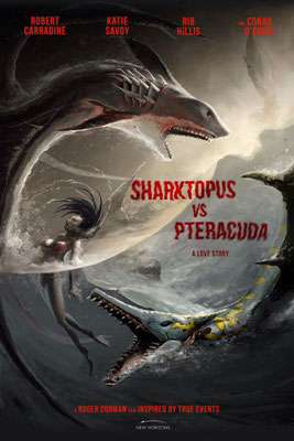 Sharktopus Vs Pteracuda (2014/de Kevin O'Neill)