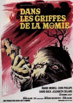 Dans Les Griffes De La Momie (1967/de John Gilling)