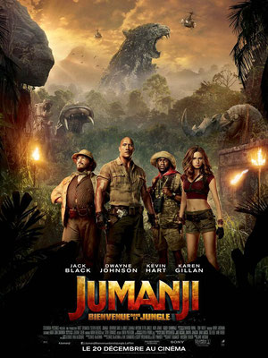 Jumanji - Bienvenue Dans La Jungle (2017/de Jake Kasdan)