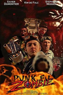 Punk Fu Zombie (2017/de Gabriel Claveau)