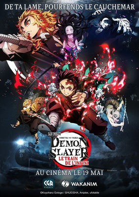 Demon Slayer : Le Train De L'Infini (2020/de Haruo Sotozaki)