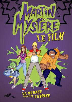 Martin Mystère - Le Film :  La Menace Vient De l'Espace (2004/de Stephane Berry & Gregory Panaccione)