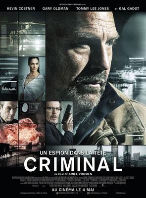 Criminal - Un Espion Dans La Tête (2016/de Ariel Vromen)