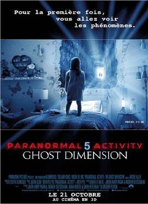 Paranormal Activity 5 - Ghost Dimension (2015/de Gregory Plotkin)