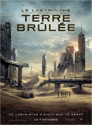 Le Labyrinthe - La Terre Brûlée (2015/de Wes Ball)