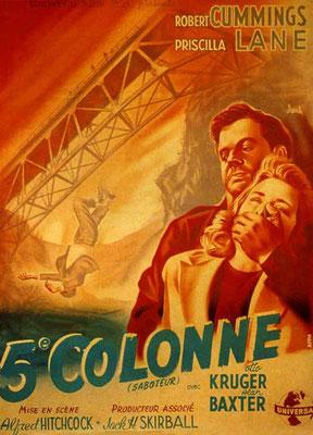 Cinquième Colonne (1942/de Alfred Hitchcock)