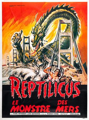 Reptilicus - Le Monstre Des Mers (1961/de Poul Bang & Sidney W. Pink)