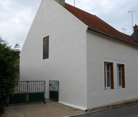 Rénovation de façade, ravalement maison ancienne, après