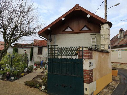 Rives de toit et habillage PVC chêne doré